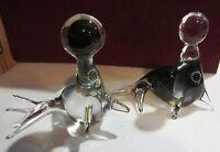 V. NASON & C MURANO Italy Art Glass Seals with Balls - STICKER