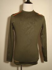 Under Armour Combine Training Shadow Camo Cold Gear Green Long Sleeve Small NWOT