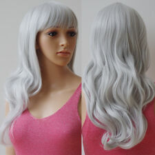 Long Hair Wig Heat Resistant Synthetic Cosplay Wig Full Wig for Women Wig Brown