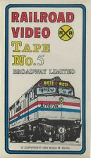 Broadway Limited - Railroad Video Productions Vhs Videotape - Used