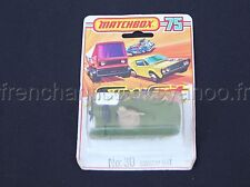 E328 MATCHBOX 75 SUPERFAST N°30 SWAMP RAT Militaire made in england car