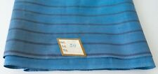 True Vintage 19thC Striped Shirt Weight Linen Quilt Workwear 1800s 1.8 yds