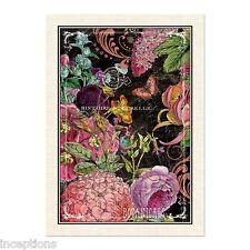 Michel Design Works Cotton Kitchen Tea Towel Botanical Garden - NEW