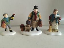 Dept 56 Dickens Village #5560-3 Come Into the Inn Set of 3 piece