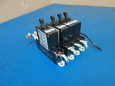 Lot of 4 Fuji Electric Circuit Protector 2x Cp31E/2W 1xCp31E/2 With Cp-S1B Bases