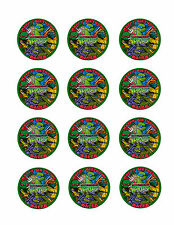 Ninja TURTLES Personalized Edible CUPCAKE Decoration Toppers Icing Image TMNT