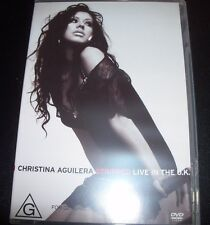 Christina Aguilera Stripped Live In The UK (Australia All Region) DVD –Like New