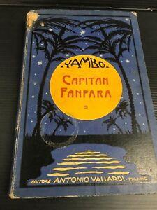 V21 YAMBO CAPITAN FANFARA Antonio Vallardi 1933