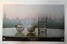 New 1981 YOKO ONO / LENNON Season Of Glass Original Geffen Poster (BEATLES)