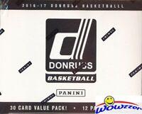 2016/17 Panini Donruss Basketball HUGE Factory Sealed FAT PACK Box-360 Cards!