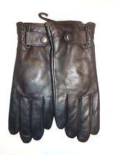 Ladies Top Quality Thinsulate Genuine Leather Driving Gloves,Medium, Black