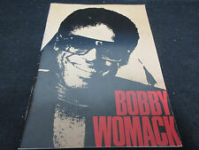 Bobby Womack 1987 Japan Tour Book Concert Program feat Photo of Rolling Stones