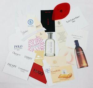 20 x Duftkarten / 20 x perfumed card / 20 x carte parfumée *LOT 006*
