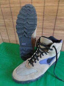 Vintage  Nike Air Caldera Trail Hiking Boots Sneakers ACG Brown purple 90s sz 13