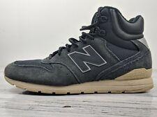 New Balance Men's High Top Black Suede Shoes Size 8 US