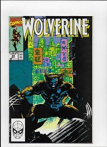 Wolverine #  24 Very Fine 1st print MARVEL COMICS 1988 Series