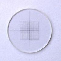DIV 0.05mm Microscope Eyepiece Micrometer Grid Net Measuring Cross Ruler Reticle