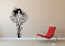 Wall Sticker Mural Decal Vinyl Decor Sexy Naked Woman Shape Tree Body Art