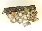 Vintage 925 Sterling Silver 190 2 grams Lot Jewelry  Scrap