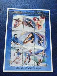 Liberia 1996 Olympic Games Atlanta Mini Sheet MNH 2