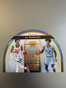 2019-20 Panini Crown Royale Ja Morant Lords of the Court /99 RC #19 RARE