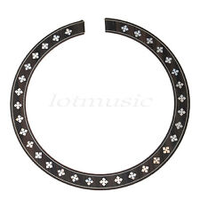 Porpular Soundhole Rosette Pearl Inlay Rosewood  For Acoustic guitar