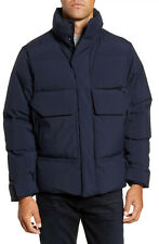 GOLDWIN Infinium Gore-Tex Men's Down Hooded Parka Jacket Navy XL