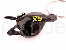 SRAM X9 Rear Trigger Shifter 10 Speed Black/Green for XX 1:1 W/O Clamp