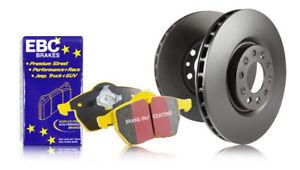 EBC Rear Brake Discs & Yellowstuff Pads Opel Insignia 2.0 TD 131 HP 2008 > 15