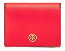 Tory Burch Parker Foldable Mini Wallet Cherry Apple Red 36986 BrandNew Authentic