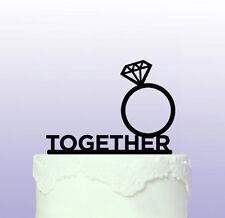 Personalizados Compromiso Wedding Cake Topper