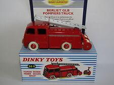 Atlas Dinky Toys Berliet Autopompe 32E Baggage Car Incendie Premier Secours