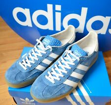 Adidas Originals Gazelle Indoor bluebird gum Sneaker 42 retro Spezial Universal
