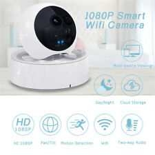 1080P Baby Dog Cat Pet Monitor Indoor IP Camera Day & Night PTZ 2 Two-Way Audio