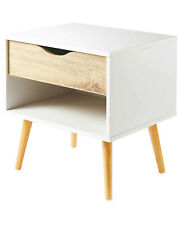 Kirkton House Modern Chest of Drawers Bedside Table Nightstand Side Bedroom New
