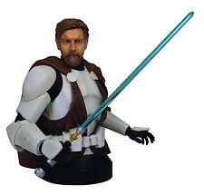 Star Wars Gentle Giant Obi Wan Kenobi Clone Armour Estatua Figura Busto 17 cm! Excelente!