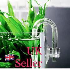 Bend U Shaped High Pressure Garden Glass Tube Home For Aquarium Co2 Diffuser
