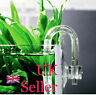 Bend U Shaped High Pressure Garden Glass Tube Home For Aquarium Co2 Diffuser