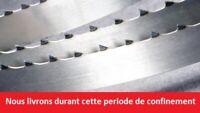2 x Lames de scie ruban 2930mm largeur 25mm pour LUREM SOLO 4