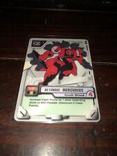 2000 Gundam MS War Trading Card Game Ms-023 Mercurius Crush Shield
