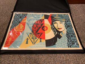 Obey Raise The Level Signed And Numbered Print /550 24x36in Shepard Fairey 2019
