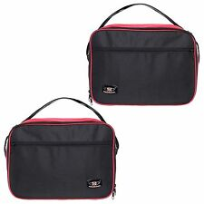 BMW R1200GS VARIO PANNIER LINER BAGS EXPANDABLE IN RED AND BLACK COLOUR
