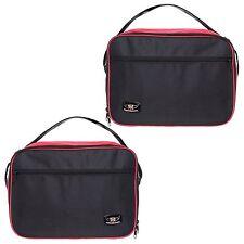 Bmw R1200gs Vario Alforja Forro Bolsas ampliable en Rojo Y Color Negro