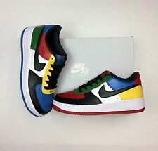 """Nike Air Force 1 """"What the"""" Customized Sneakers Men's Size 6 / Women's Size 7.5"""
