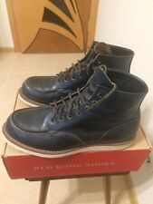 RED WING SHOES 4516 X J.Crew 10,5D 43-44 Navy colour