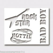 LOT 30 BAD BOY HOTTIE ROCK STAR STENCILS-PET GOG CAT Grooming Color HAIR DYE GEL