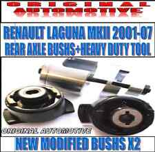 FOR RENAULT LAGUNA MKII 01-07 REAR AXLE SUBFRAME BUSHS & HEAVY DUTY REMOVAL TOOL