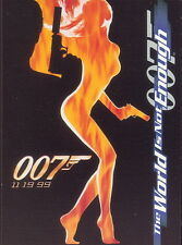 JAMES BOND THE WORLD IS NOT ENOUGH 1999 INKWORKS PROMO CARD P1 MO