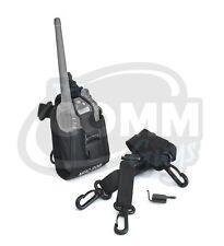 Case For Vertex Standard Vx354 Radio Nylon Holster Belt Loop Carry Snap Pouch