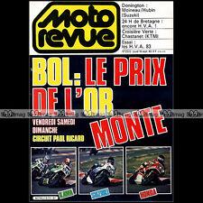 MOTO REVUE N°2572 HONDA CX 650 TURBO YAMAHA XV 1000 SE HUSQVARNA 250 500 CR 1982